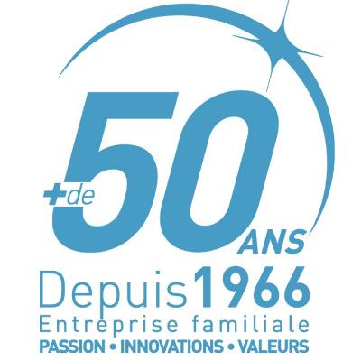 L'entreprise familiale fête ses 50 ans